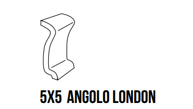 Formteil Flag Angolo London 5x5